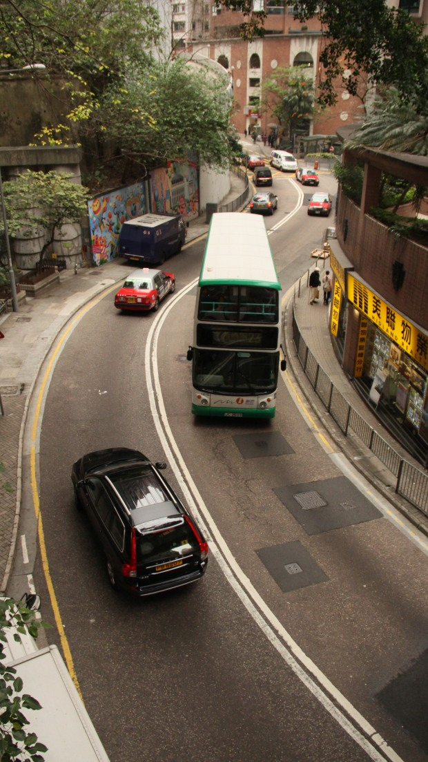Hornsey Drive, from the top of the Central Mid-Levels. Image (c) Benjamin J Spencer