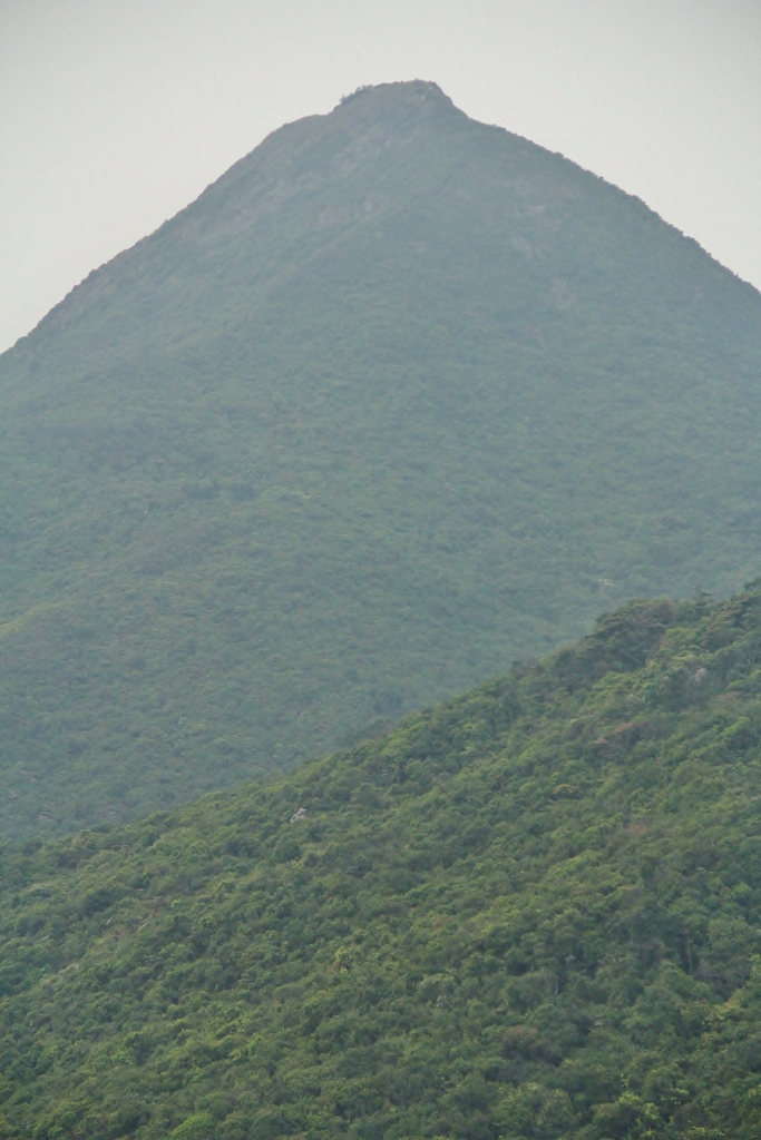 Other peaks of Hong Kong Island. From Victoria Peak. Image (c) Benjamin J Spencer