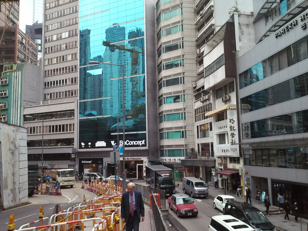 Just a fraction of Central Hong Kong. Image (c) Benjamin J Spencer