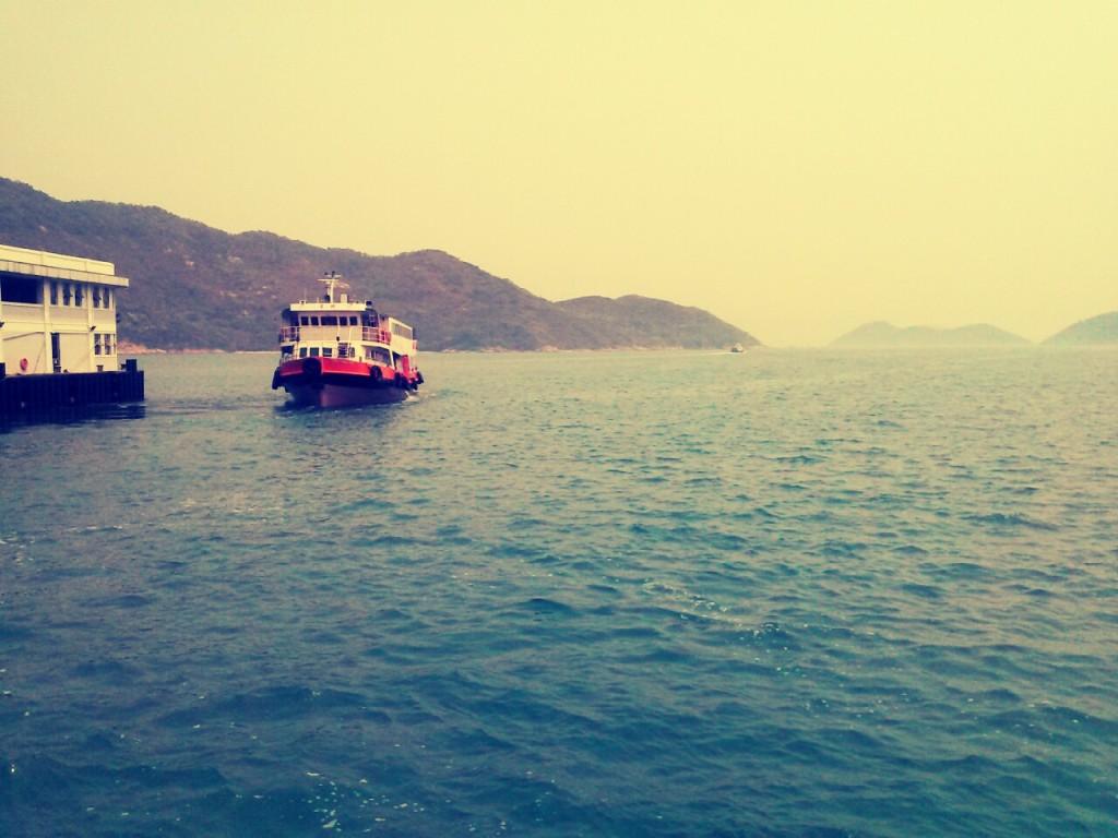 The slow boat to China. Heh heh. Image (c) Benjamin J Spencer